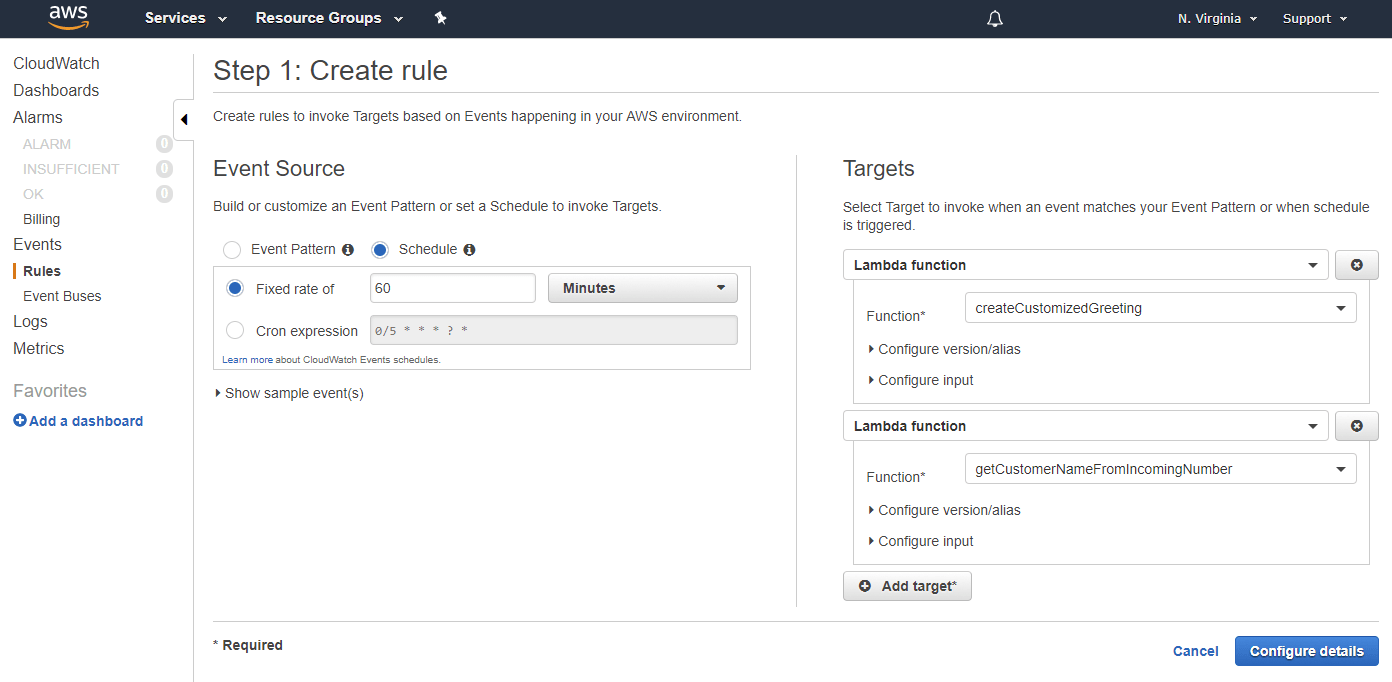 Keeping Lambdas Warm in Amazon Connect