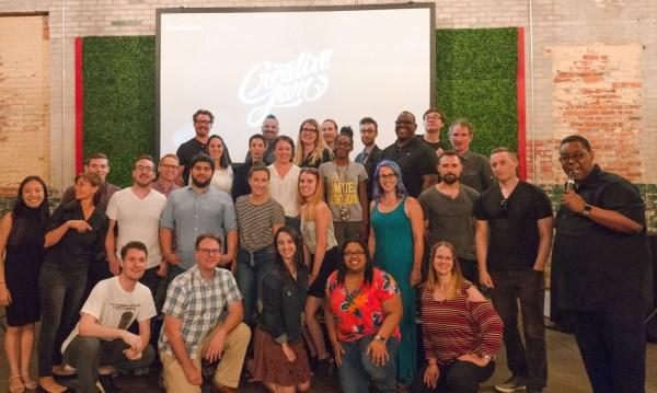 Contestants at Adobe Creative Jam in Detroit.
