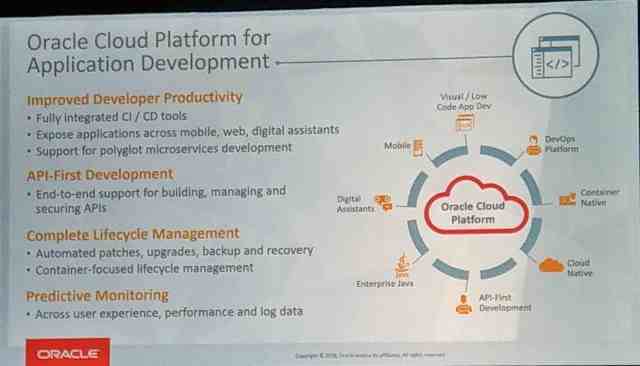 OpenWorld: Oracle Cloud Platform Strategy - Perficient Blogs