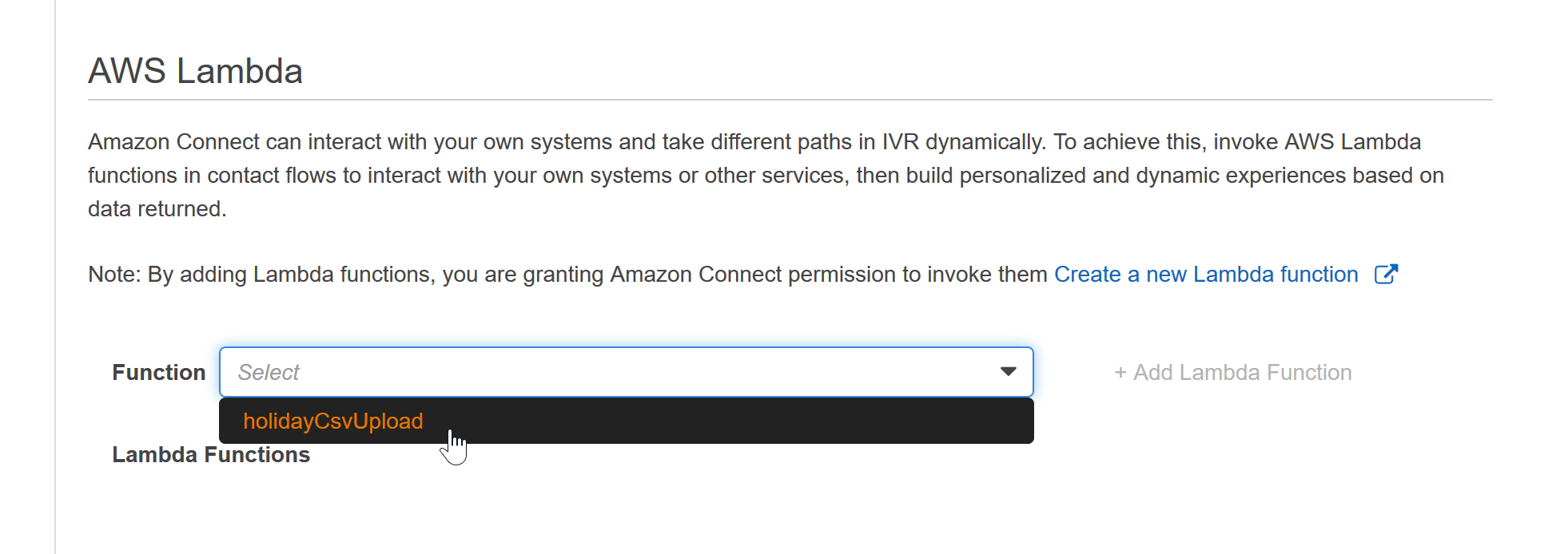 Invoking Lambda Functions with Amazon Connect - Perficient Blogs