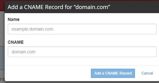 add a cname record 2 salesforce community perficient