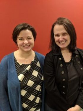 Picture of Karla Kraft and Jennifer Edwards from Perficient