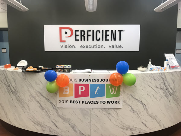 Best Place to Work Award: Perficient Colleagues Celebrate