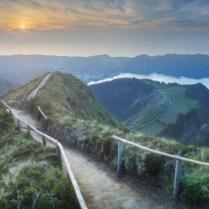 Mountain Landscape Ponta Delgada Island Azores Picture Id1129571382