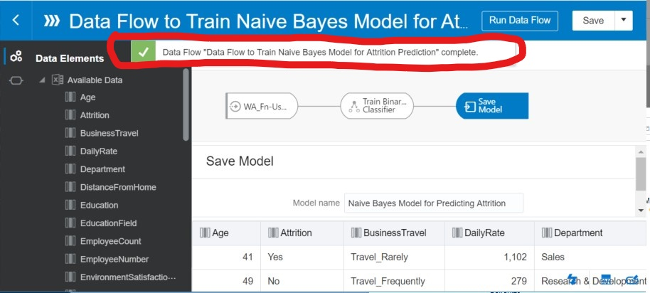 How to Compare Machine Learning Models in Oracle Analytics Cloud