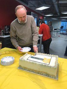 Jb Cuts Cake