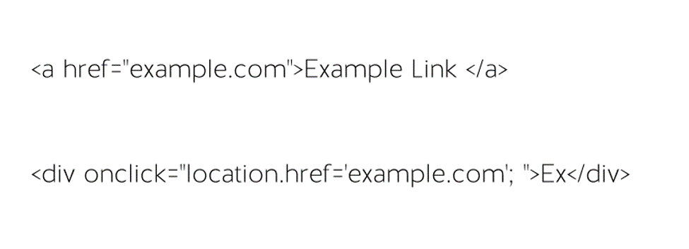 Urls examples in JavaScript