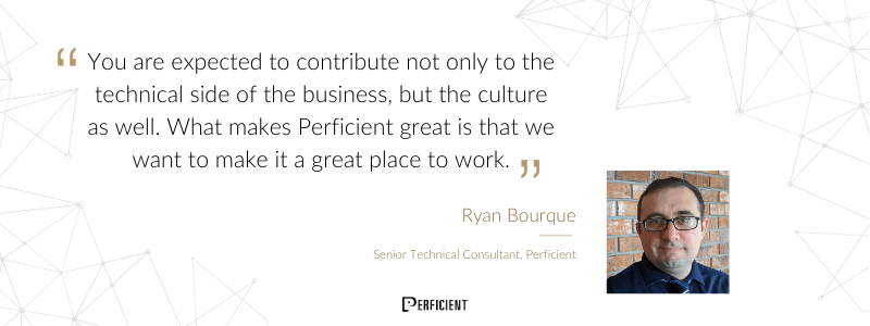 ryan perficient is best tech job