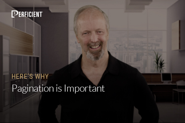 Eric Enge on Why Pagination is Important