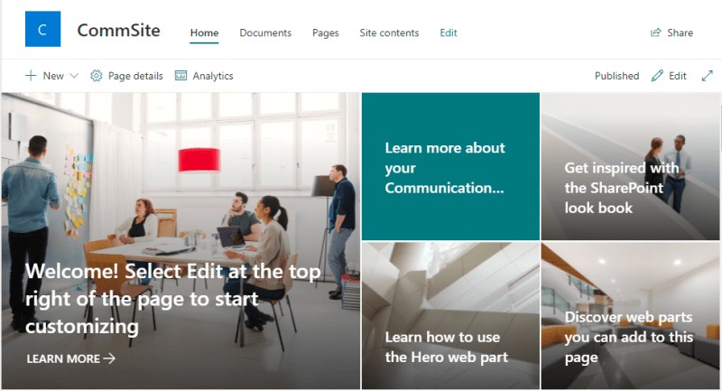 What is the Difference Between Team Site and Communication Site in SharePoint?