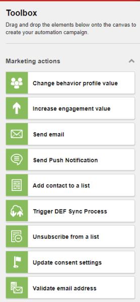 Marketing Automation Toolbox