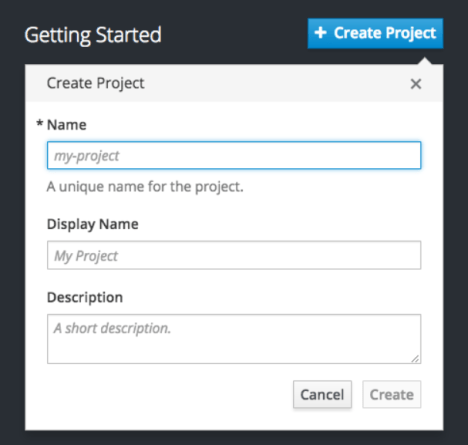 Openshift Container Getting Started