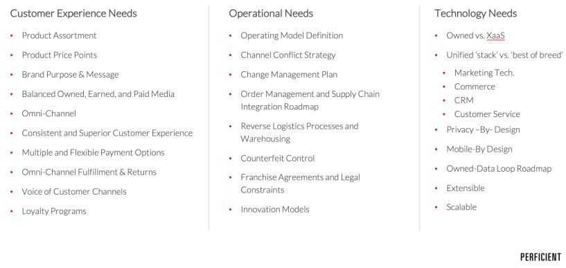Key DTC Considerations
