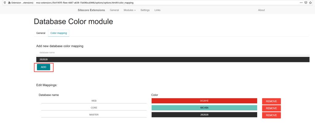 Sitecore Ext Screenshot 4