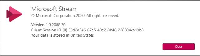 Microsoft Stream Data 2