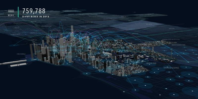 City of Big Data Map