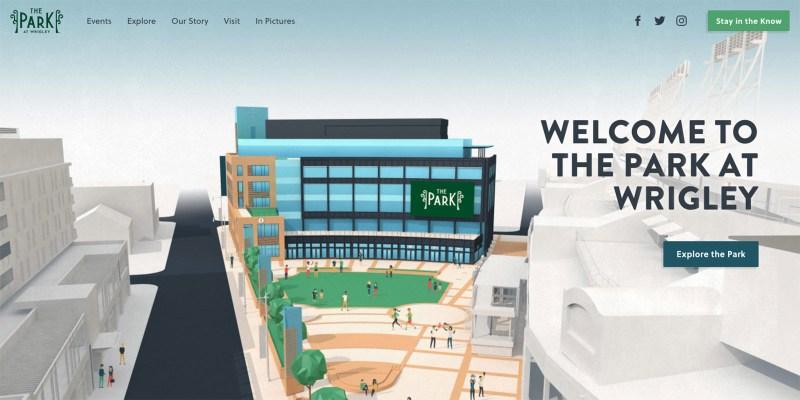 Park at Wrigley interactive map