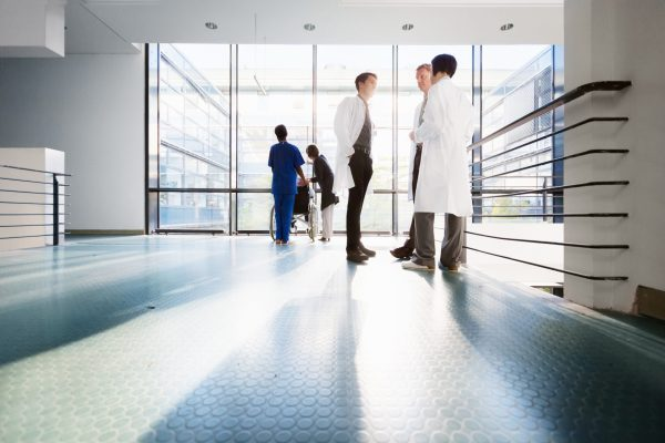 Doctors In Corridor