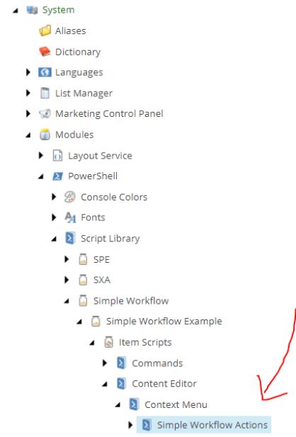 Simpleworkflowspeeduplocationwitharrow