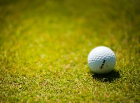 White Golf Ball On Green Grass 1174996