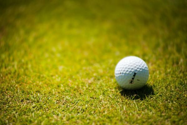 White Golf Ball On Green Grass 1174996