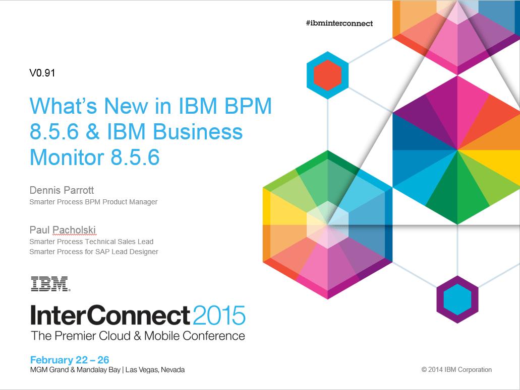 coming soon to a bpm near you - ibm, Presentation templates