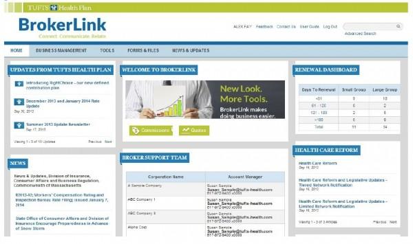 New Broker Portal