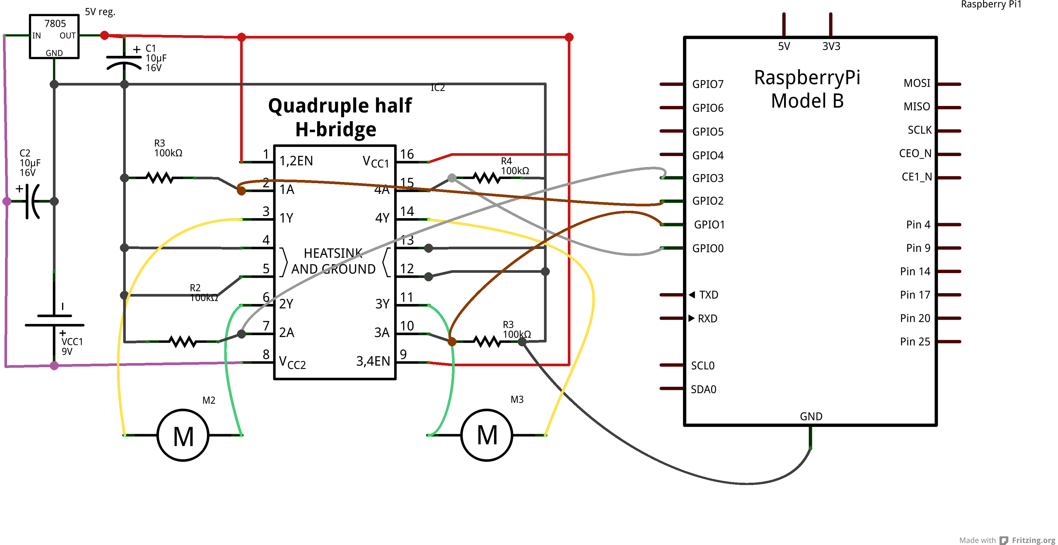 Small Computers Archives Sharing And Learning Wiringpi Encoder Circuit Schematic For Two Way Control Of Four Motors