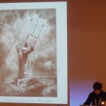 """Jenna Weissman Josselit presenting """"Baby in the Bulrushes: Moses in the American Imagination."""""""