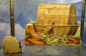 Noah's ark from l'arche de Noé (Paris:1880)