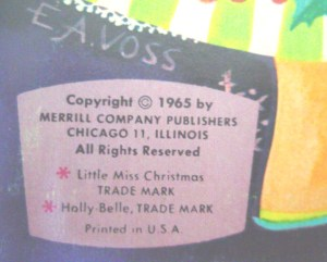 A cover signed with Betty Anne's married name.