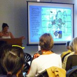"Jill Shefrin discussing travel illustrations, maps, and ""dissected maps"" for children"