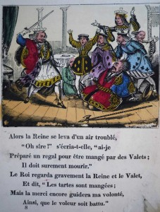 Queen of Hearts, French version