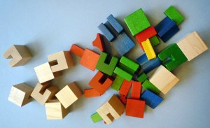 Storybook City. 167 Pieces. Skaneateles, NY : T.C. Timber, ca. 1991. Manufactured by Habermaas Corporation.