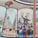"San Francisco and across Great Plains, via ""chemin de fer"""
