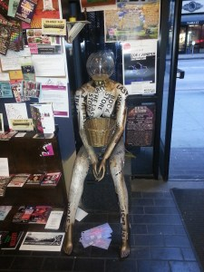 last bookstore mannequin