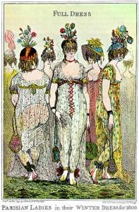 1799-Cruikshank-Paris-ladies-full-winter-dress-caricature