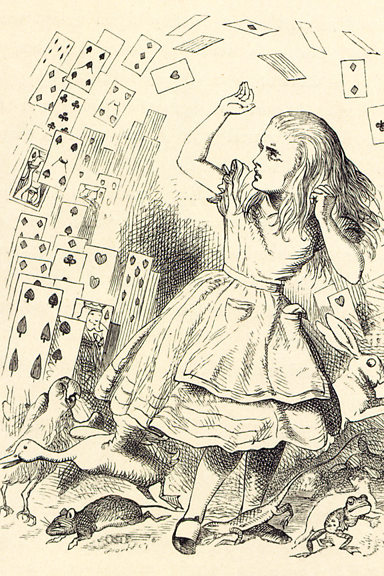 Picturing Alice In Wonderland How Do Child Readers Imagine It Cotsen Children S Library