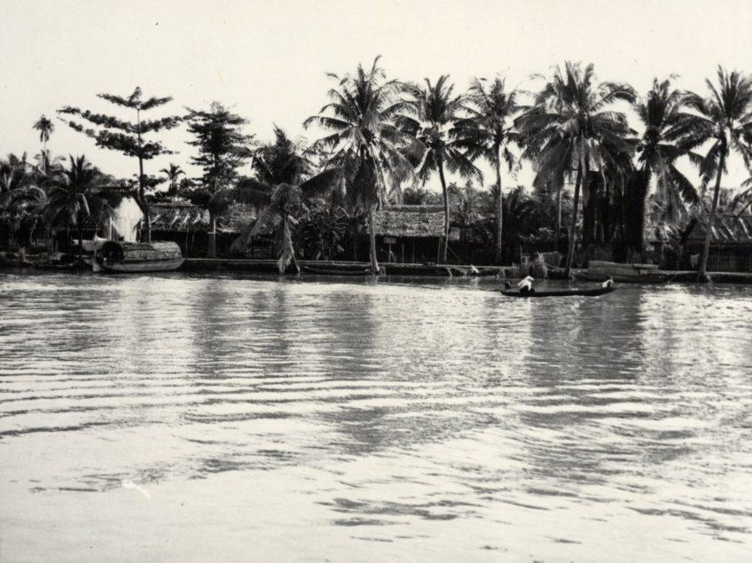 Riverfront of Cai Rang, Vietnam, 1968