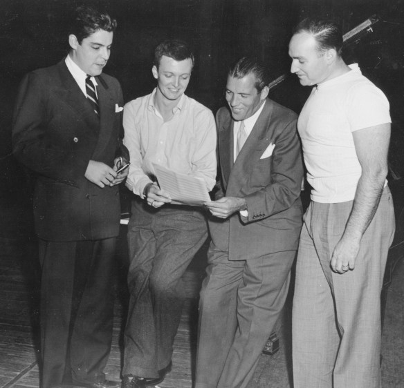 Mark_Lawrence_'42_C._Robert_Jennings_Ed_Sullivan_&_Fred_Kelly_AC122_Box_74