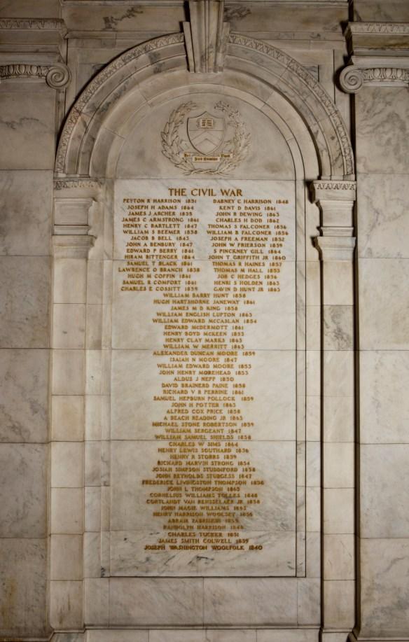 Civil War Memorial Atrium