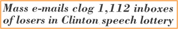 Headline from April 28, 1997, issue of the Daily Princetonian. See full story here.