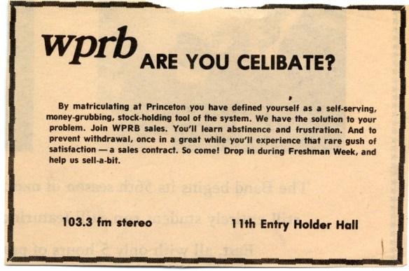 WPRB Ad