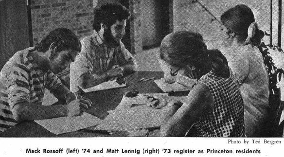 Voter registration from Princetonian_1971-09-23_v95_n082_0001