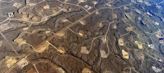Shale-gas field