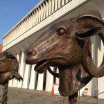 Ram sculpture