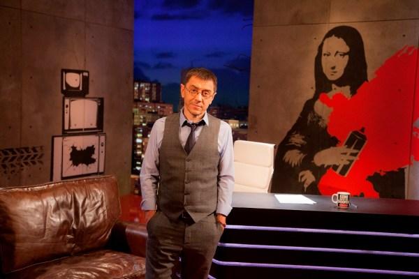 Juan Carlos Monedero presenta 'En la frontera'
