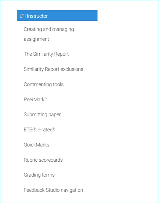 Turnitin within Canvas – Staff Guide
