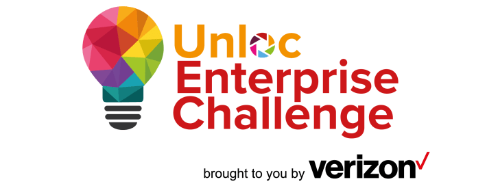 Unloc Enterprise Challenge Logo (multicoloured light bulb)