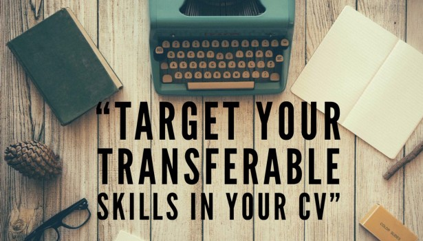 Type writer - target your transferable skills on your CV